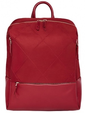 Рюкзак Xiaomi Fashion City Lingge (90 Points Simple Urban Backpack) Red photo-1