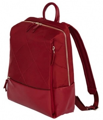 Рюкзак Xiaomi Fashion City Lingge (90 Points Simple Urban Backpack) Red photo-2