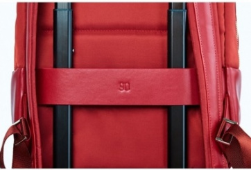 Рюкзак Xiaomi Fashion City Lingge (90 Points Simple Urban Backpack) Red photo-4
