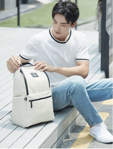 Рюкзак Xiaomi 90 Points Pro Leisure Travel Backpack 10 (white) photo-3